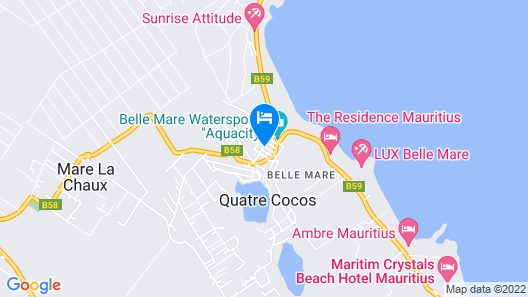 The Residence Mauritius Map