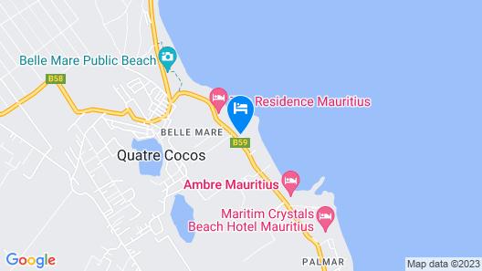 LUX* Belle Mare Resort & Villas Map