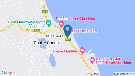 Veranda Palmar Beach Hotel - All Inclusive Map