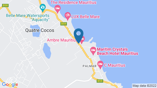 Orchid Villas Mauritius Map