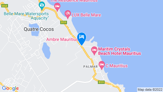 Ambre All Inclusive - Adults only Map