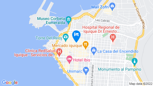 Hotel Bamboo Map
