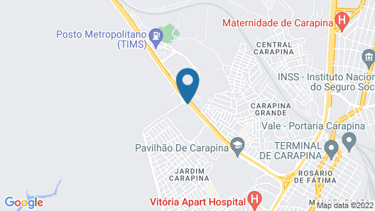 ibis Vitoria Aeroporto Map