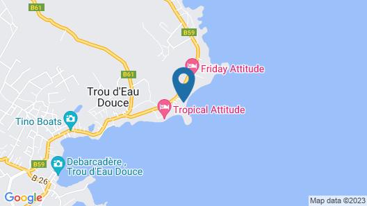 La Koquillishe Map