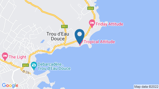 Tropical Attitude - Adults only Map