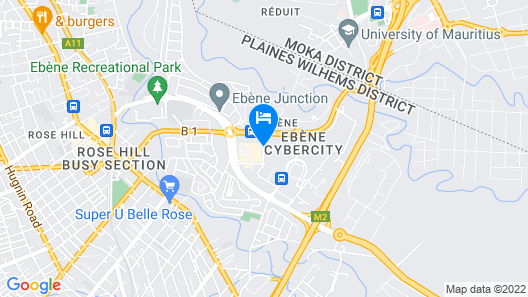Hennessy Park Hotel Map