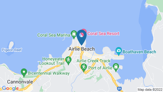 Airlie Waterfront Bed & Breakfast Map