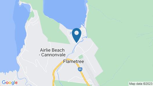 Aqua - at Funnel Bay Map