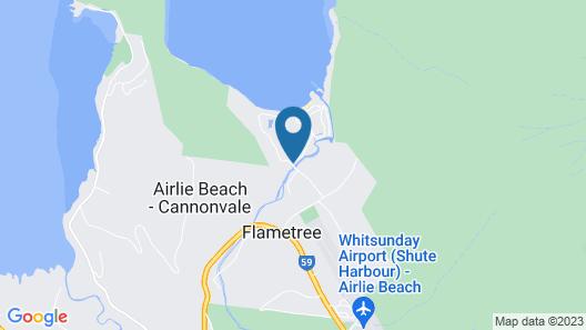Celeste - at Funnel Bay Map
