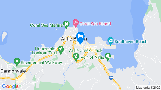 Nomads Airlie Beach Map