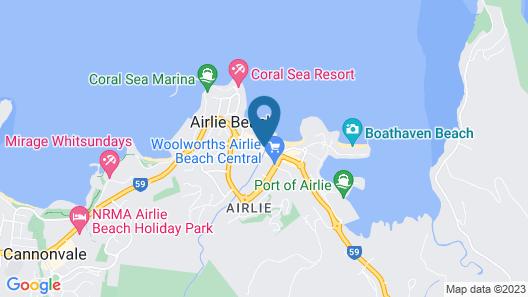 Beaches Backpackers Airlie Beach - Hostel Map