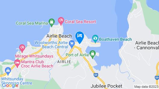 Airlie Beach Hotel Map