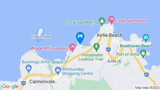 Peninsula Airlie Beach Map