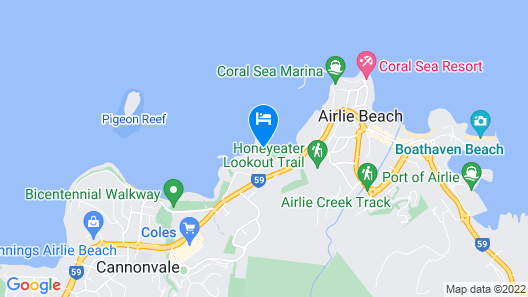 Peninsula Airlie Beach Map