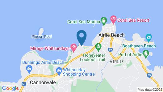 at Marina Shores Map