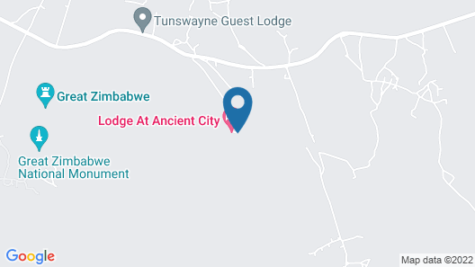 Lodge at The Ancient City Map