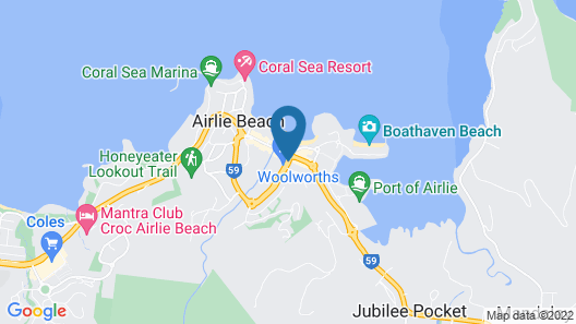 Airlie Court Units Map