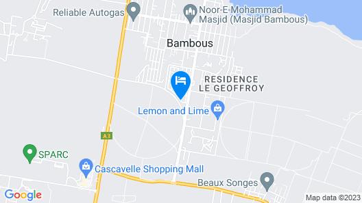 Villa Friendly Ch Fanja Map