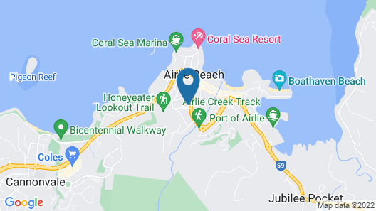 Candlelight - Airlie Beach Map