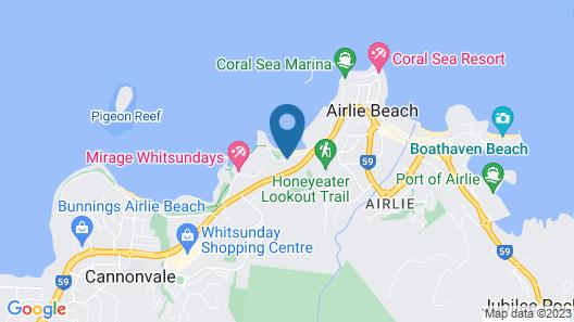 Shingley Beach Resort Map