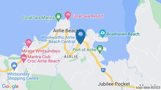 at Water's Edge Resort Map