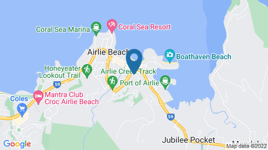 Airlie Beach Apartments Map