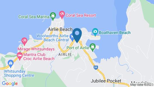 Ocean View 10 A Pool & Spa Map