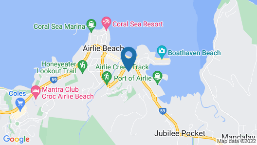 Airlie Harbour 3 Bedroom Apartment Map