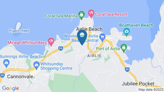 Sea Star Apartments Map