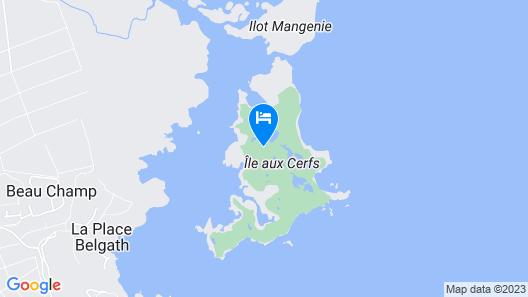 Bubble Lodge Ile aux Cerfs Map