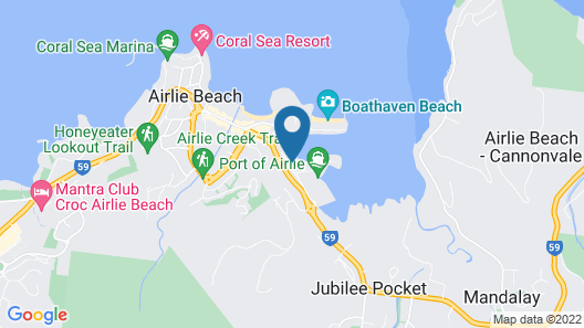 Mantra Boathouse Apartments Map