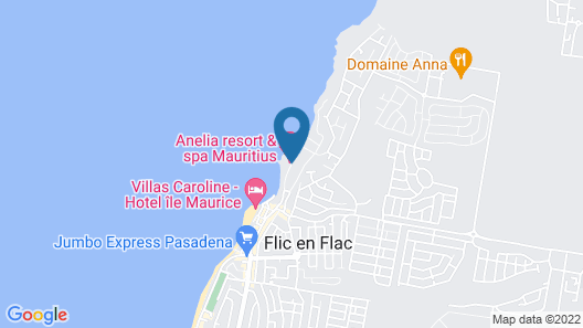 Anelia Resort Villas & Spa Map