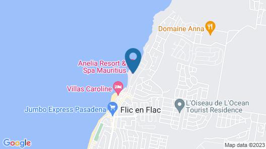 Anelia Resort & Spa Map