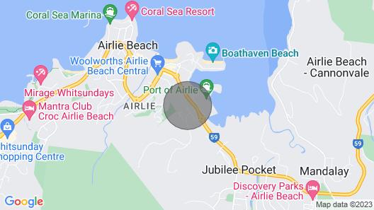 Marina view apartment  ⛵ Map