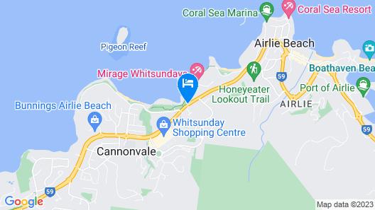 Mirage Whitsundays Map