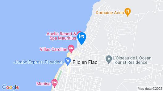 villa Osumare Map
