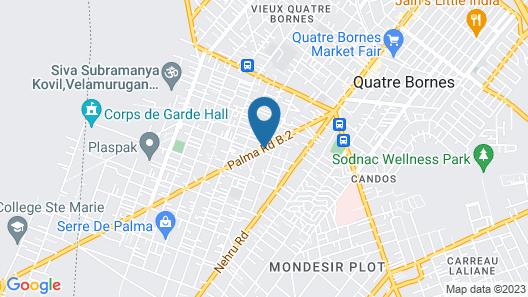Auberge le Rajah Map