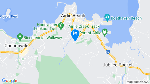 Azure Sea Whitsunday Resort Map