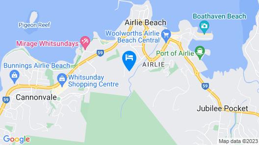 Summit Apartments Airlie Beach Map