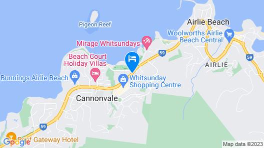 Seabreeze Tourist Park Map