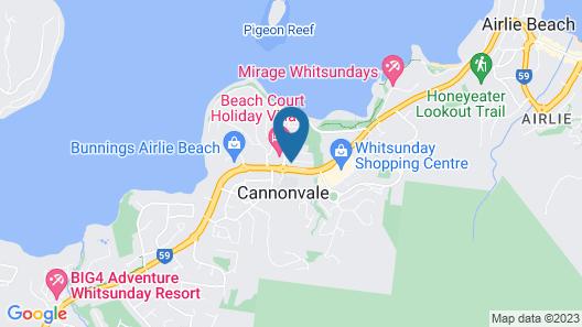 Whitsunday Wanderluxe Map