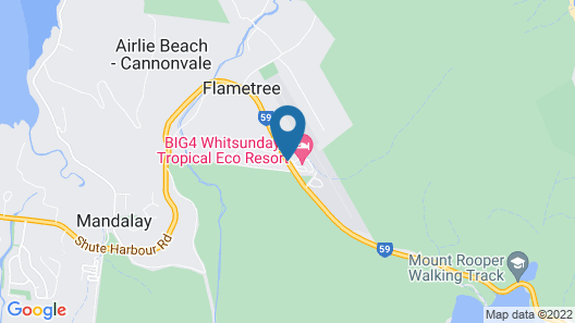 Big4 Whitsundays Tropical Eco Resort Map
