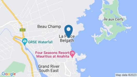Anahita Golf & Spa Resort Map