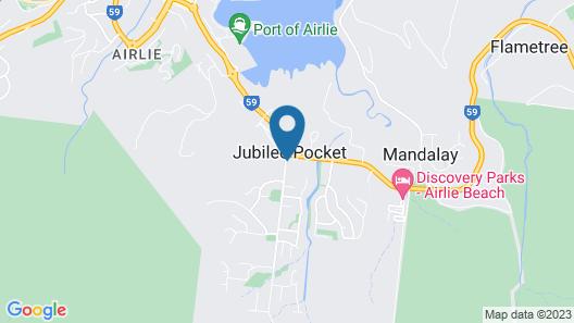 Island Gateway Holiday Park Map