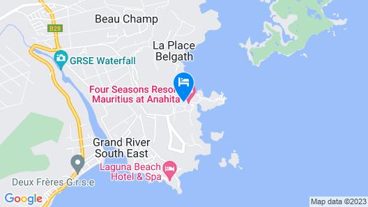 Four Seasons Mauritius at Anahita Map