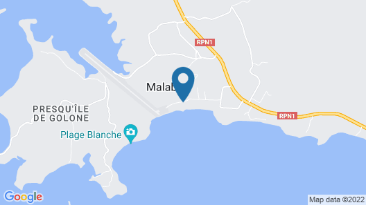 Malabou Beach Hotel Map
