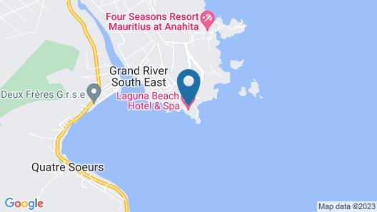 Laguna Beach Hotel & Spa Map