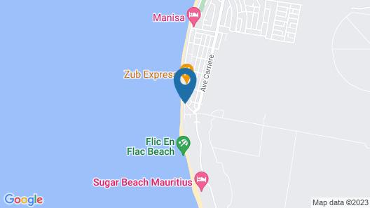 Pearle Beach Resort & Spa Map