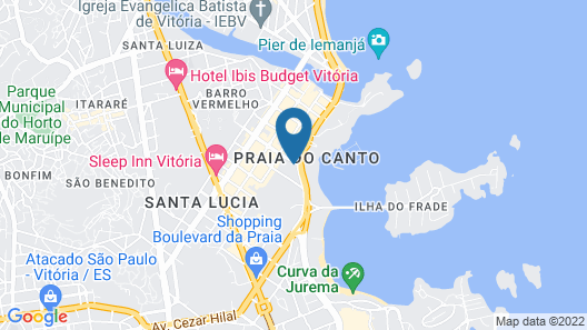 Hotel Costa Victória Map