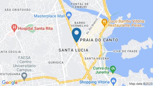 Sleep Inn Vitória Map